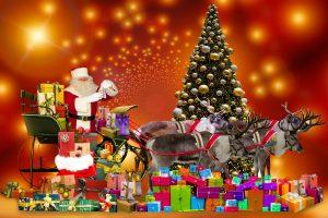 Weihnachtsfeier für die Betreuungsgruppe